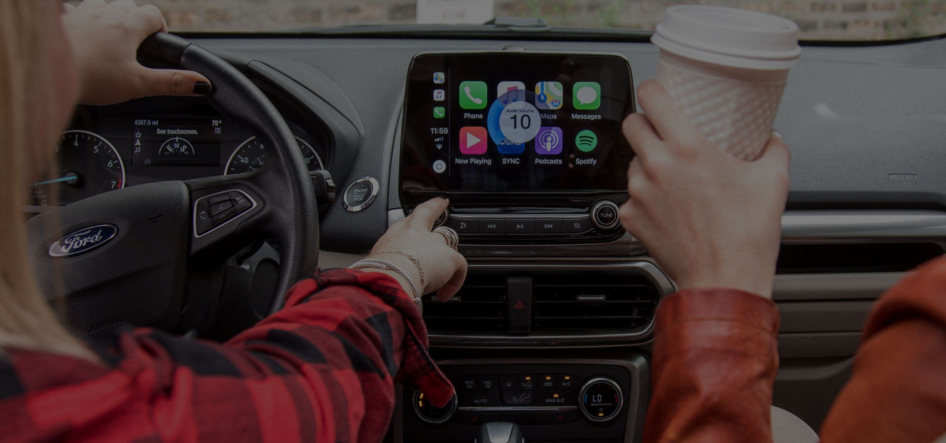 carplay main interface
