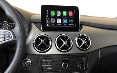 Wireless CarPlay AndroidAuto Smart Module for Benz A Class B Class GLA-Pic