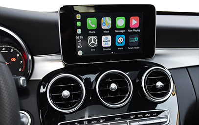 Wireless CarPlay AndroidAuto Smart Module for Benz C Class GLC-Pic