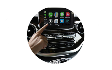Wireless CarPlay AndroidAuto Smart Module for Benz V Class R Class ML SLC SLK-2