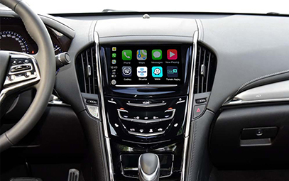 Wireless CarPlay AndroidAuto Smart Module for Cadillac ATS-L 16-17 models - Pic