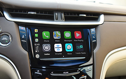 Wireless CarPlay AndroidAuto Smart Module for Cadillac XTS 16-17 models - Pic