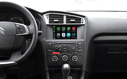 Wireless CarPlay AndroidAuto Smart Module for Citroen C4L 13-16 models-Pic
