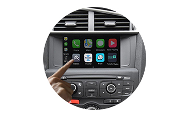 Wireless CarPlay AndroidAuto Smart Module for Citroen C4L 13-16 models-control method-1