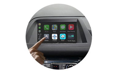 Wireless CarPlay AndroidAuto Smart Module for Citroen C5 14-16 models-control method-1
