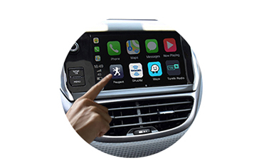 Wireless CarPlay AndroidAuto Smart Module for Peugeot 2008 14-16 models-control method-1
