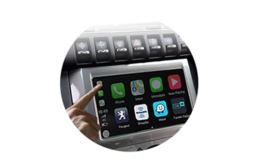 Wireless CarPlay AndroidAuto Smart Module for Peugeot 3008 15-16 models-control method-1