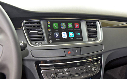 Wireless CarPlay AndroidAuto Smart Module for Peugeot 508 13-16 models-Pic