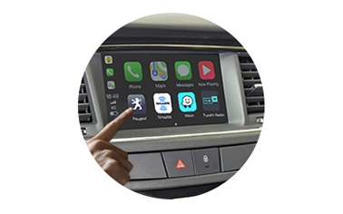 Wireless CarPlay AndroidAuto Smart Module for Peugeot 508 13-16 models-control method-1