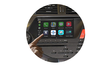 Wireless CarPlay AndroidAuto Smart Module for Peugeot DS5 13-15 models-control method-1