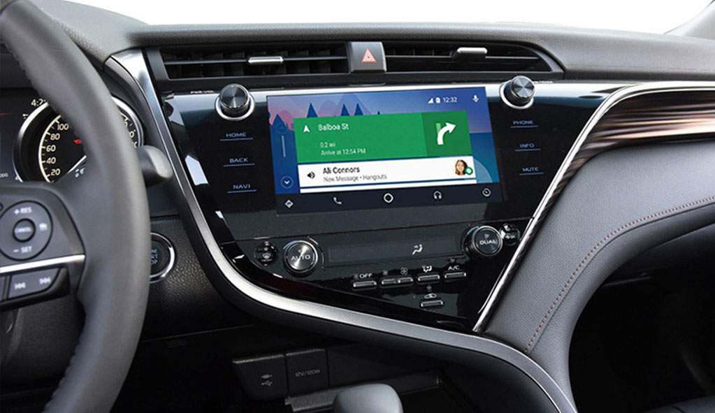 Wireless-CarPlay-AndroidAuto-Smart-Module-for-Toyota-Camery-2019-model-with-8-inch-screen-Android-Auto