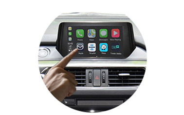 iSmart auto wireless CarPlay for Mazda Atenza 13-19 models - control method-2