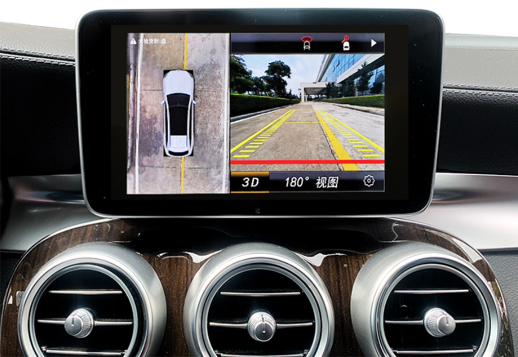 Wireless CarPlay rear camera
