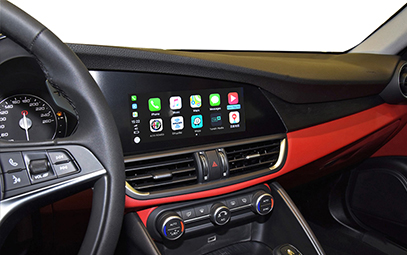 Wireless CarPlay AndroidAuto Smart Module for Alfa Romeo Stelvio Giulia 16-19 Models-19 models-Pic