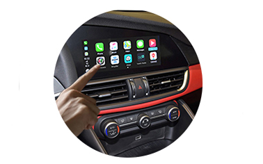 Wireless CarPlay AndroidAuto Smart Module for Alfa Romeo Stelvio Giulia 16-19 Models-2